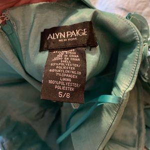 Alyn Paige Dresses - One-shoulder formal dress